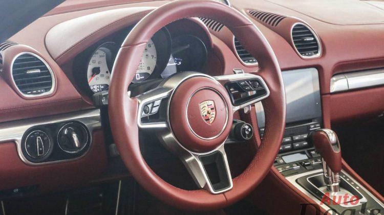 Porsche 718 Boxter S Cabriolet | GCC – Under Warranty
