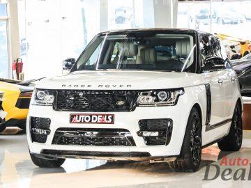 Range Rover Vogue SC Autobiography SV | GCC – Full Option | Full Service History