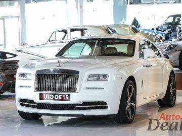 Rolls Royce Wraith | Full Option – Starlights | GCC – Low Mileage | Full Service History
