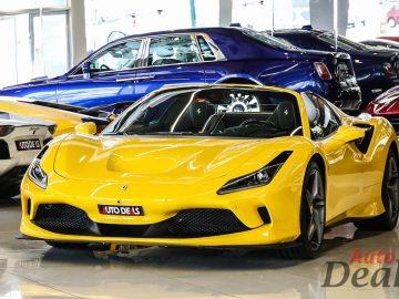 Ferrari F8 Spider | 2021 – Brand new – GCC | Warranty Till 2024 | Service Contract Till 2028 | 720HP