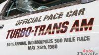 Pontiac Trans AM Indianapolis Daytona 500 Pace Car | One Of 500
